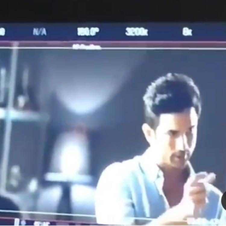 Sushant Singh Rajput's behind the scene videos from the set of an ad film will make you nostalgic; Watch