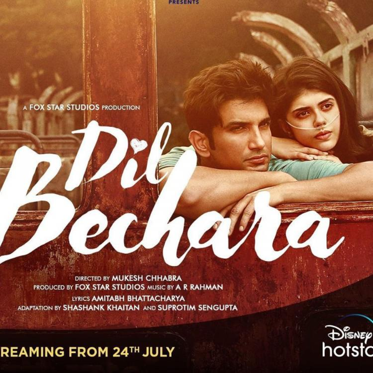 Sushant Singh Rajput's LAST film Dil Bechara to release digitally on THIS date; Sanjana Sanghi shares poster