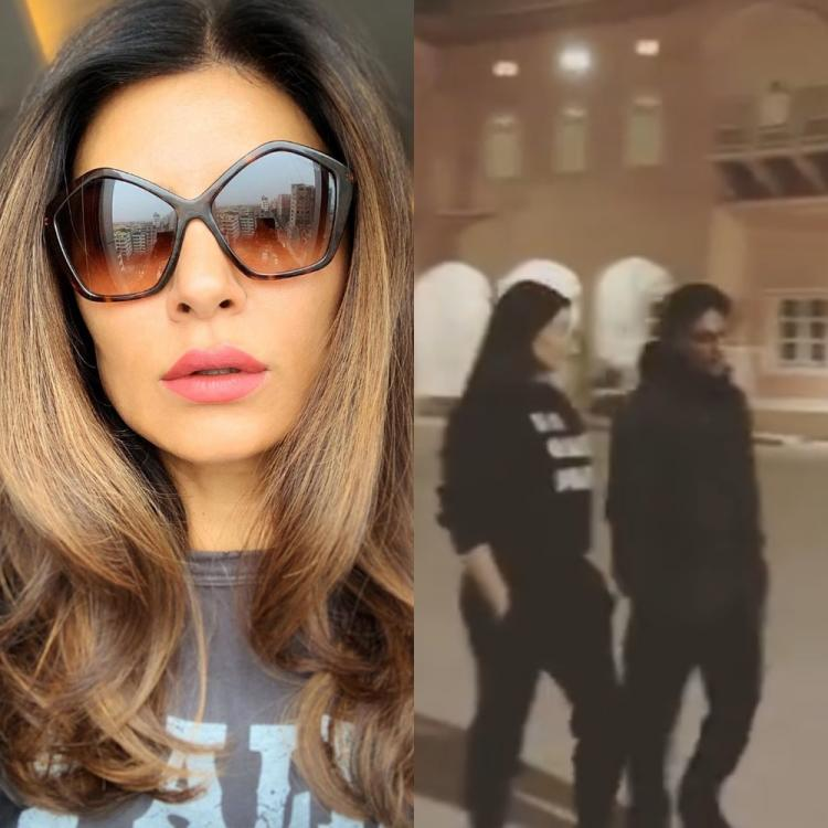 Sushmita Sen and director Ram Madhvani turn showstopper in a BTS video from sets of Aarya; Watch