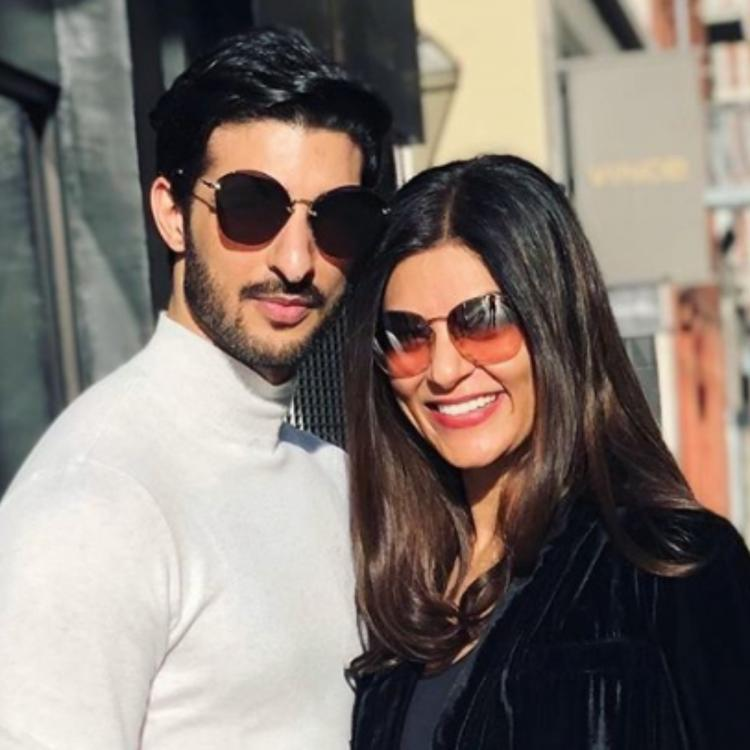 Sushmita Sen celebrates 2 years with beau Rohman Shawl; Shares 'When Sush met her Rooh' moment