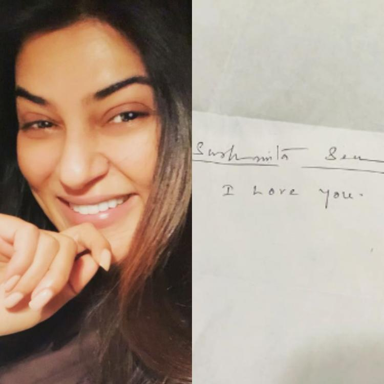 Sushmita Sen is overwhelmed post receiving a love letter from a fan: It's simplicity will resonate a lifetime