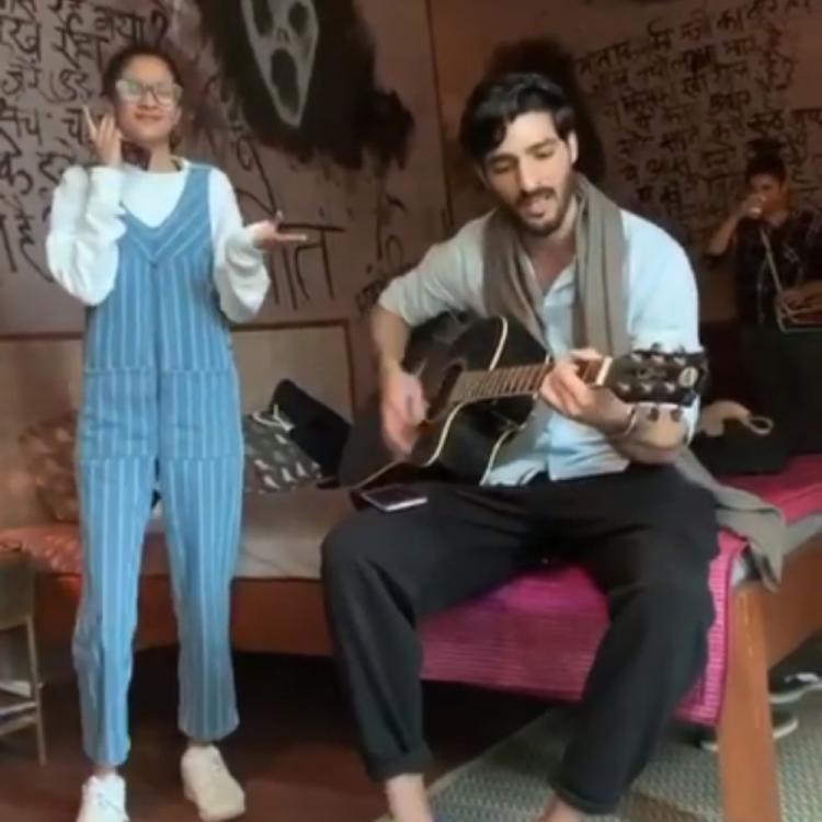 Sushmita Sen shares a heartwarming video of Rohman Shawl crooning a song for her
