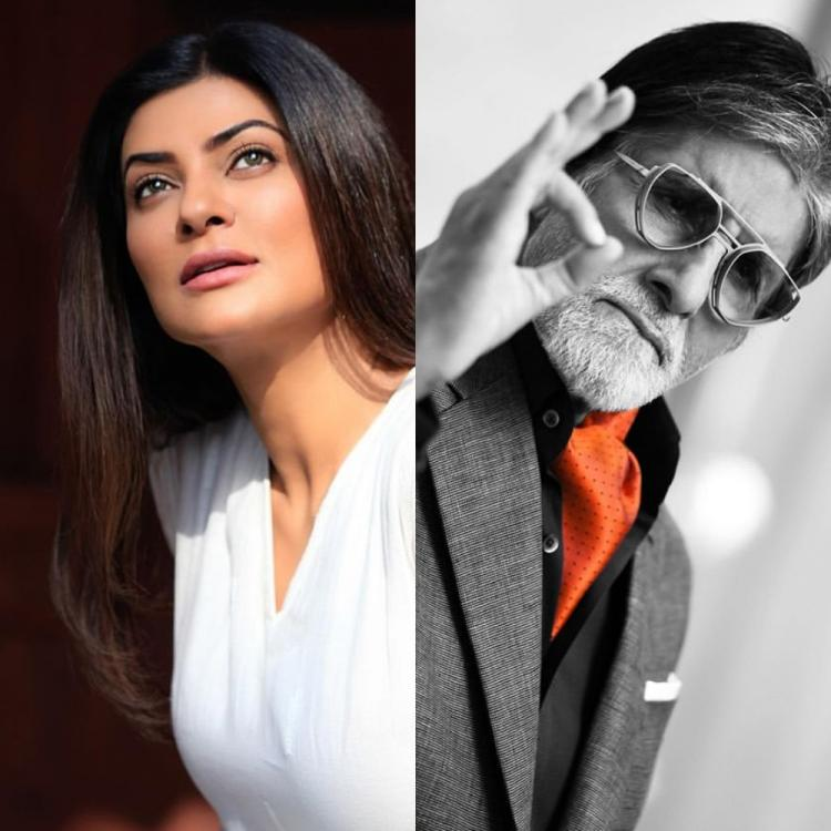 Sushmita Sen was asked to describe Amitabh Bachchan in one word and we totally agree with her answer