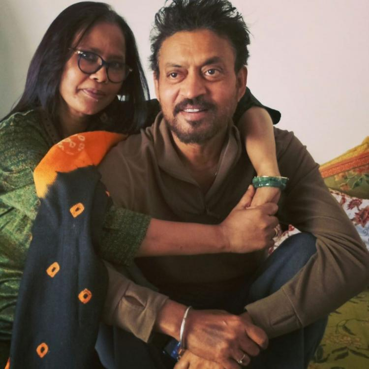 Sutapa Sikdar pays tribute to husband Irrfan Khan with a rare photo; Says 'I have not lost, I have gained'