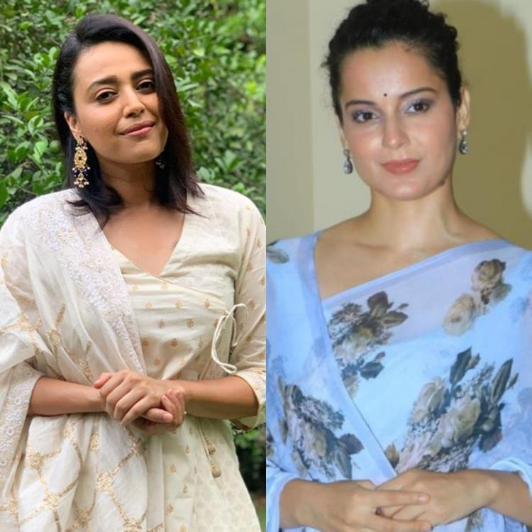 Swara Bhasker on Kangana Ranaut's remarks: She has adopted a certain tone for those who don't agree with her | PINKVILLA