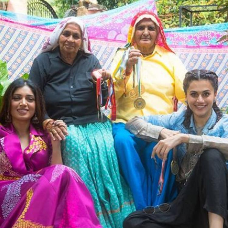 Taapsee Pannu and Bhumi Pednekar mourn Chandro Tomar's demise