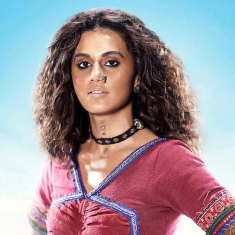 Taapsee Pannu shares a BTS picture of her look trial for Rashmi Rocket; Says 'Prologue is set'