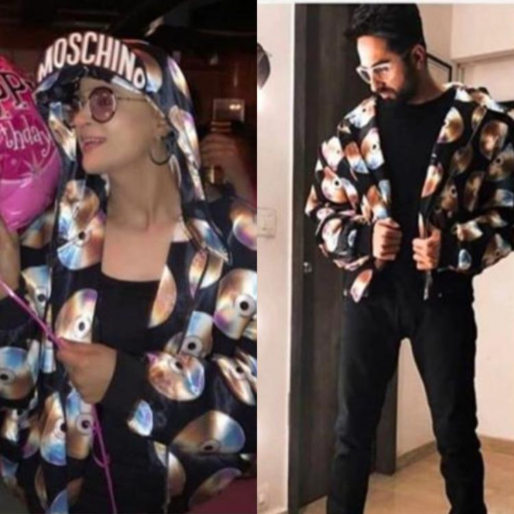 Tahira Kashyap dons Ayushmann Khurrana's jacket in her own stylish way; Says 'We believe in gender fluidity'