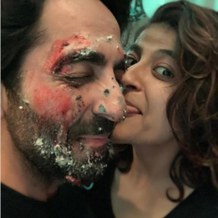 Tahira Kashyap's birthday wish for 'soulmate' Ayushmann Khurrana is all about cake smash & a whole lot of love