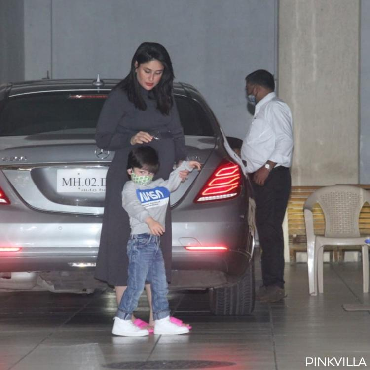 Taimur Ali Khan yelling 'No Photo' to paps as he steps out with mom Kareena Kapoor Khan is too cute to miss