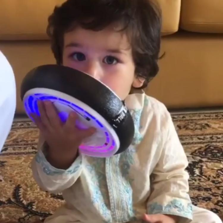 Taimur Ali Khan enjoying his playtime in a throwback VIDEO is too cute to miss