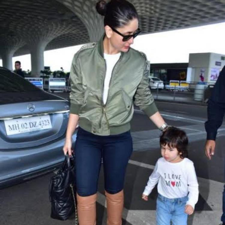 Taimur Ali Khan gets his sense of fashion from Kareena Kapoor Khan and we can't get enough of them in boots