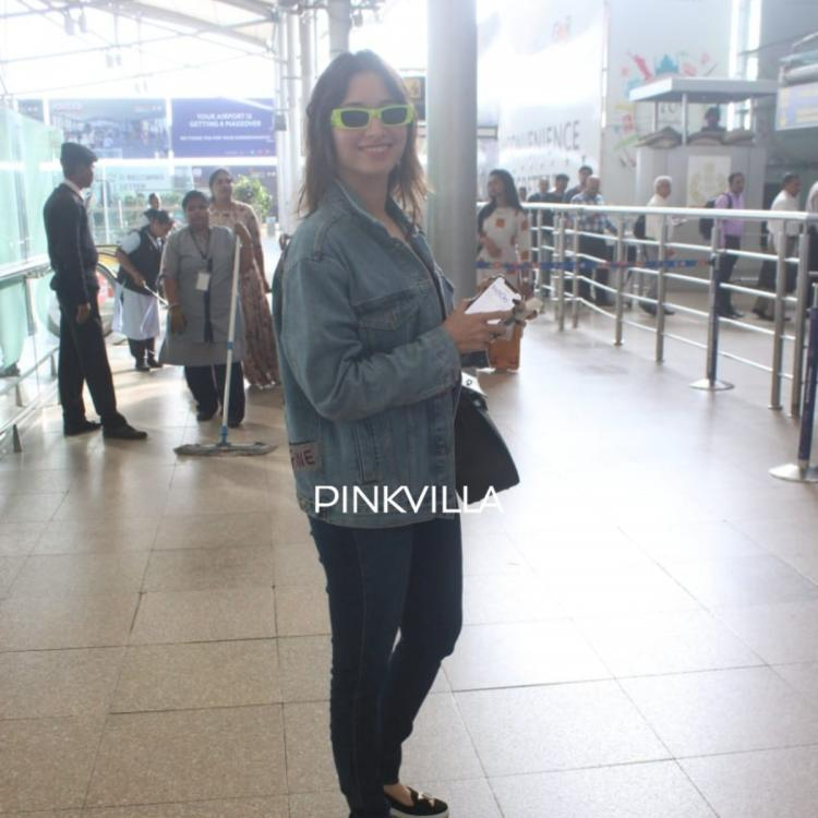 PHOTOS: Tamannaah Bhatia is making heads turn in her denim look at the airport
