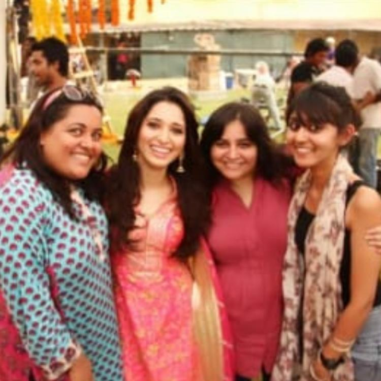Tamannaah Bhatia takes a walk down memory lane as she shares a throwback PIC with her friends