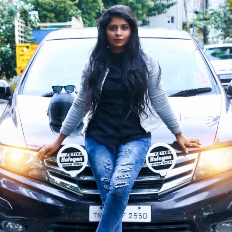 Tamil Bigg Boss 3 fame Madhumitha makes the best out of quarantine time; Learns car driving and bike riding