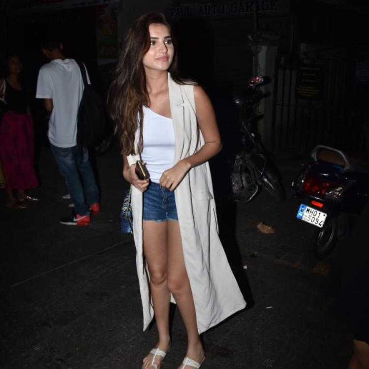 PHOTOS: Tara Sutaria keeps it comfy and cool as she comes out of a cafe in the city