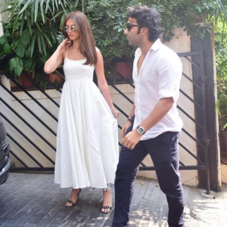 Tara Sutaria, Aadar Jain's New Year 2021 celebrations was all about seaside, sunshine & lush green views; PICS