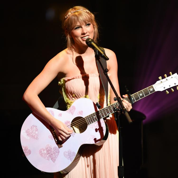 Taylor Swift lands Songwriter of the Year at Apple Music Awards