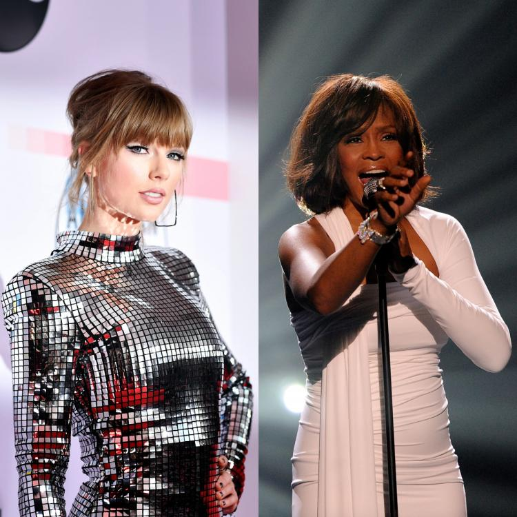 Taylor Swift S Folklore Breaks Whitney Houston S Record Of Most Weeks Spent At No 1 On Billboard Charts Pinkvilla