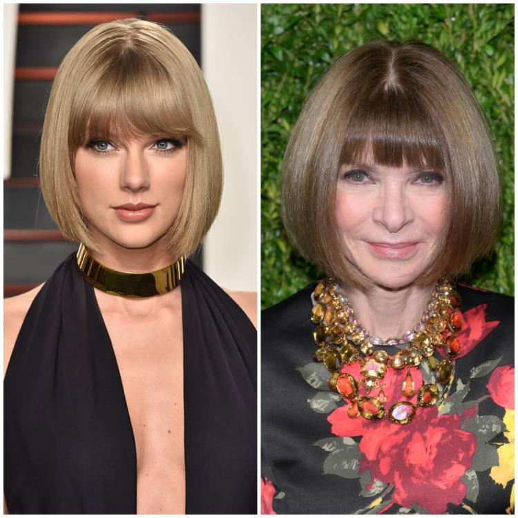Taylor Swift replicates Anna Wintour's hairstyle and the latter feels 'honoured' that she did