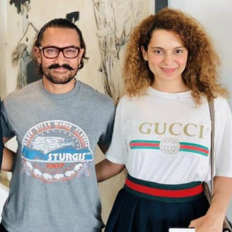 Team Kangana Ranaut lashes out at Aamir Khan over old interview when he said his kids will only follow Islam