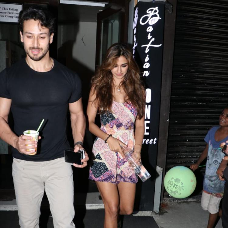 PHOTOS: Tiger Shroff and Disha Patani are all smiles as they get papped post a dinner outing in the city