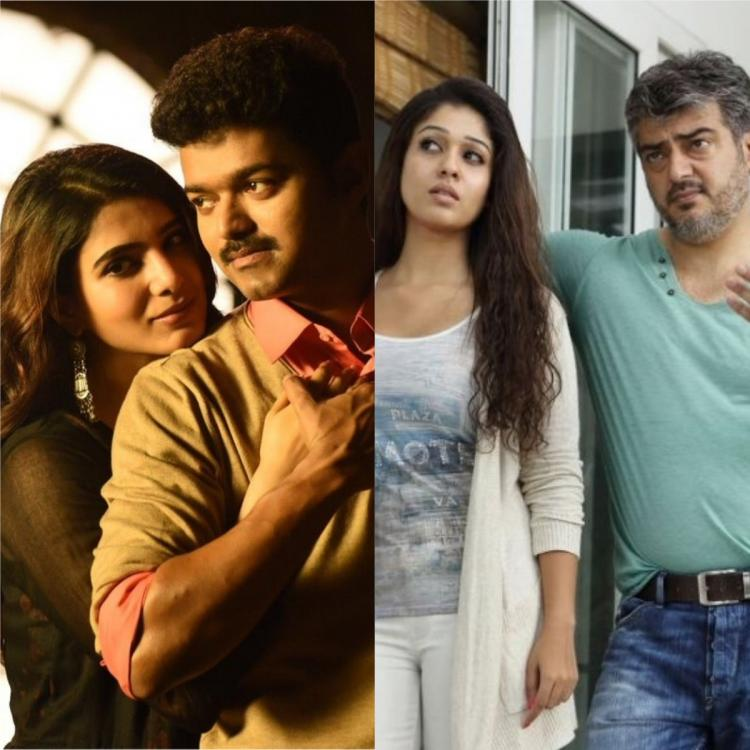 Thala Ajith and Nayanthara or Thalapathy Vijay and Samantha Akkineni: Who is your favourite on screen couple?