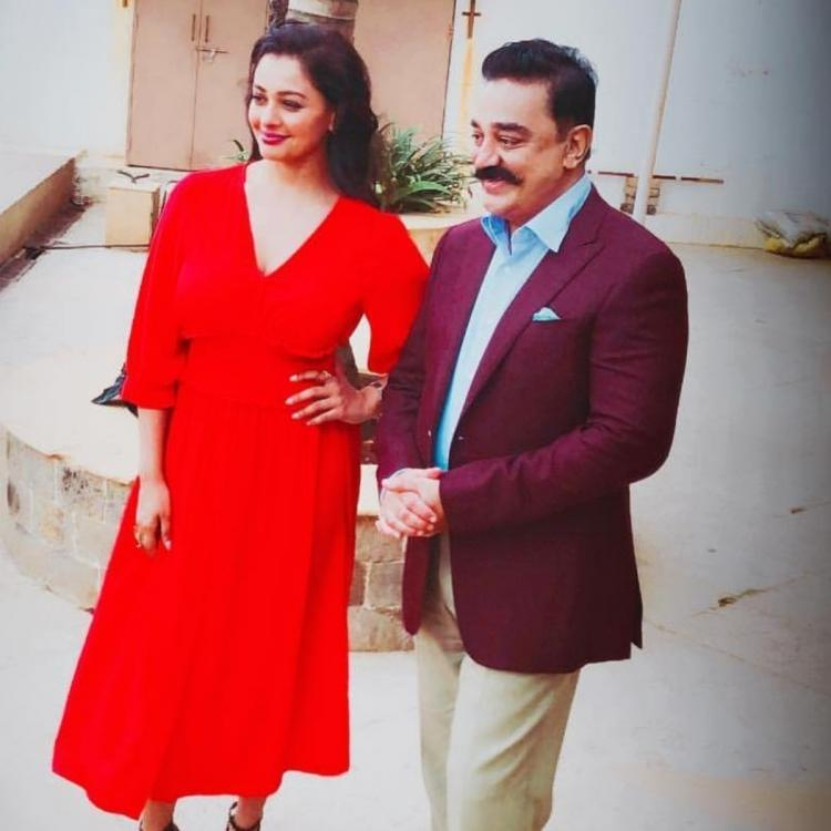 Thalaivan Irukkindran Pooja Kumar clears the air on rumours about her role in the Kamal Haasan starrer