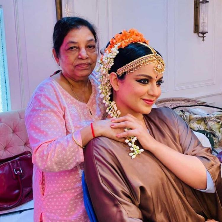 Thalaivi: Kangana Ranaut shares glimpse of her look & wishes hair stylist on completing 50 years in Bollywood