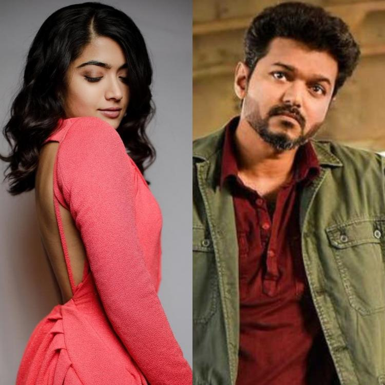 Thalapathy Vijay Is My Crush I Ve Always Loved Him Says Bheeshma Actress Rashmika Mandanna Watch Video Pinkvilla