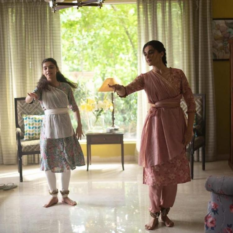Thappad: Taapsee Pannu shares a still from the film conveying a message on hope, love and respect