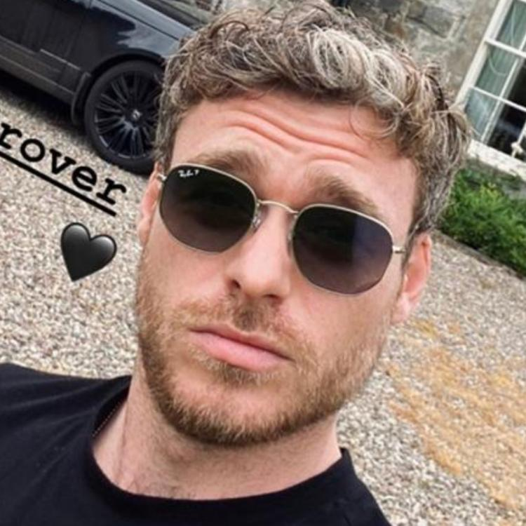 Richard Madden is currently in Scotland and took to Instagram Stories to update his fans on what he's been up to.