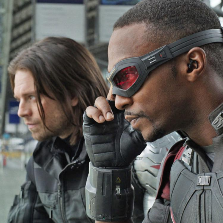 The Falcon and The Winter Soldier Poster: Anthony Mackie sports a Captain America inspired suit; Check it out