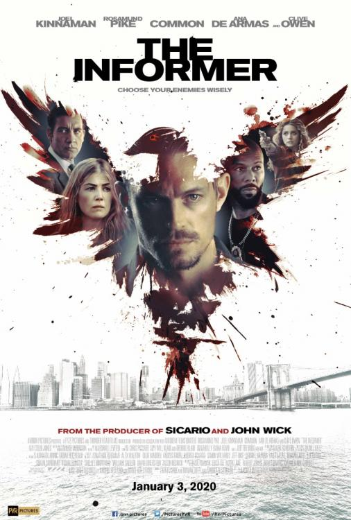 The Informer is slated to release in India on January 3, 2020.