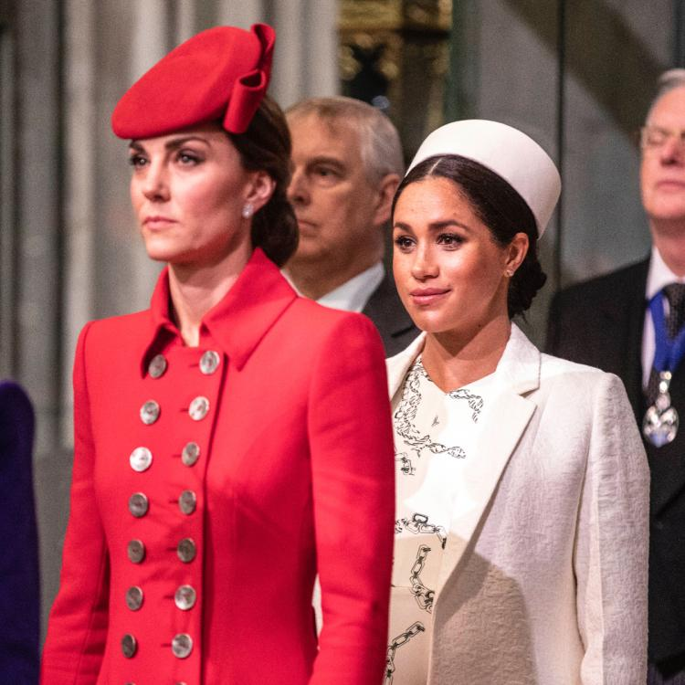 The Queen wanted Duchesses Meghan Markle & Kate Middleton to stop 'bickering': Report