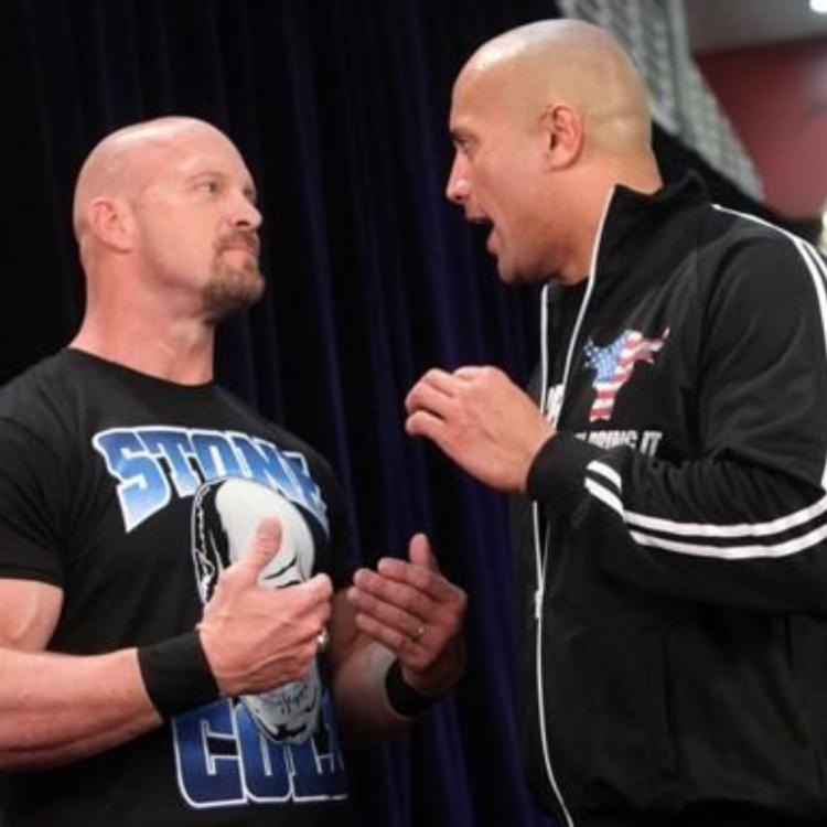 The Rock hilariously comments on Stone Cold Steve Austin's return to WWE Raw; AJ Styles chips in his two cents