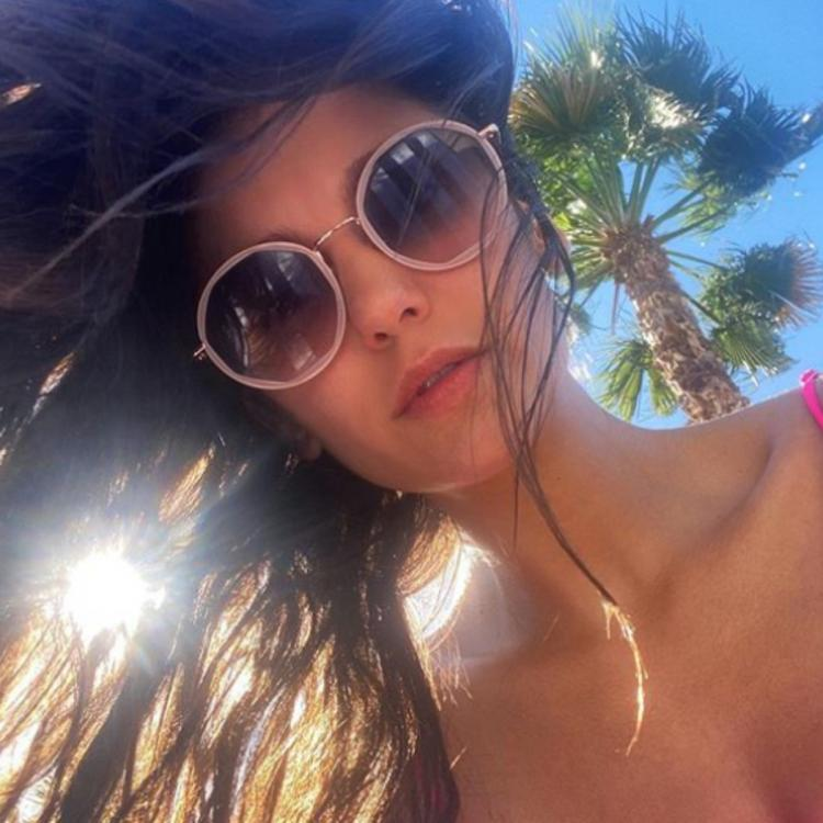 The Vampire Diaries star Nina Dobrev flaunts her sun kissed bikini body; Pretends to be on vacay amid lockdown