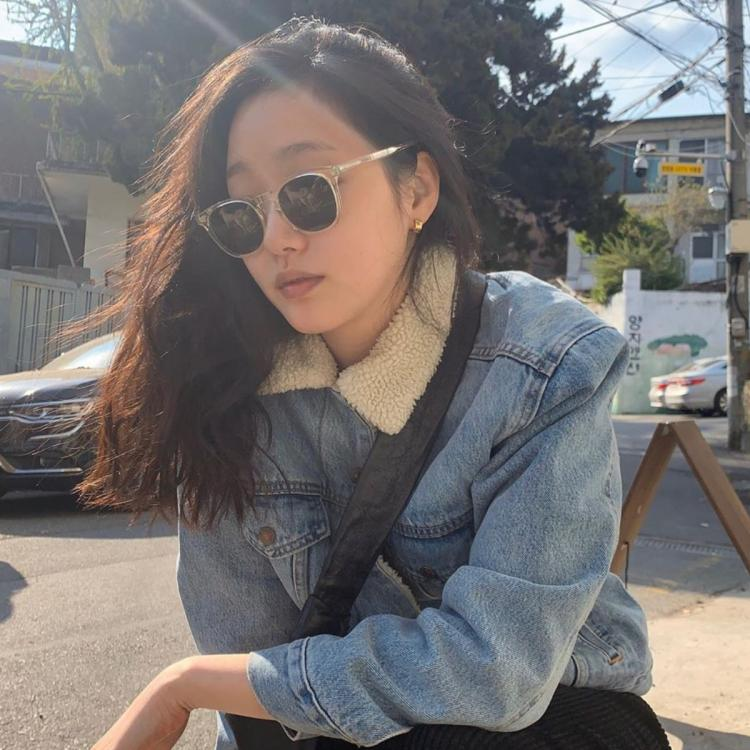 The King: Eternal Monarch star Kim Go Eun takes our breath away with her biker chic look in a denim jacket