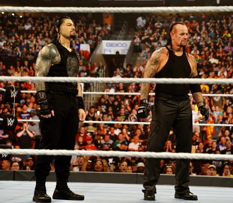 """According to The Undertaker, """"Roman [Reigns] is hitting on all cylinders"""""""