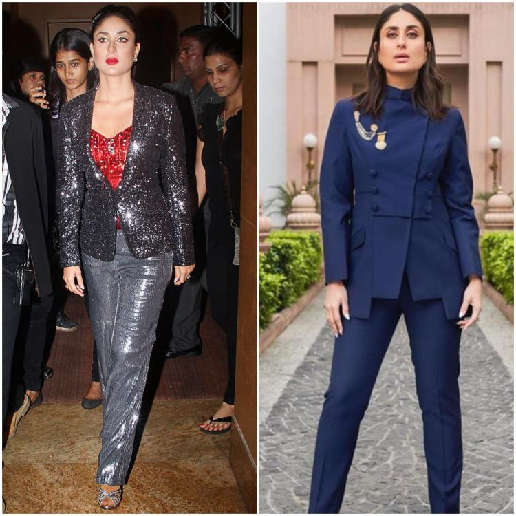 Then Vs Now: Kareena Kapoor Khan's pantsuit transformation shows how her style has taken a 360 degree turn