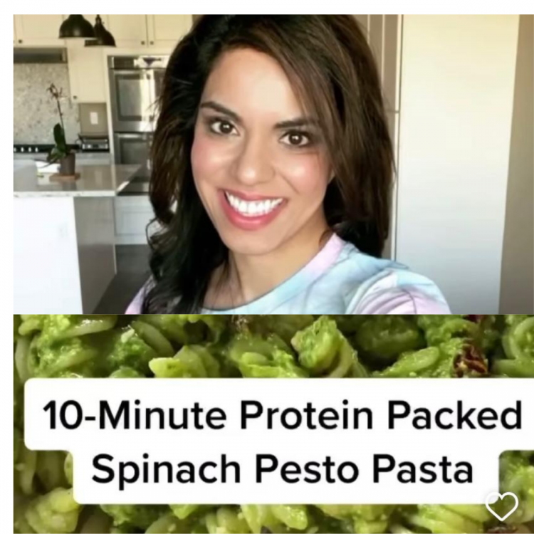 This protein-packed spinach-pesto-pasta recipe from Indian American influencer is a must try