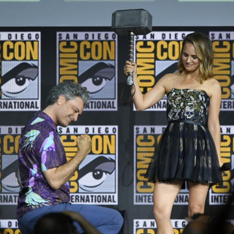 Thor: Love and Thunder: Natalie Portman REACTS to playing first female Thor; Chris Hemsworth excited as well