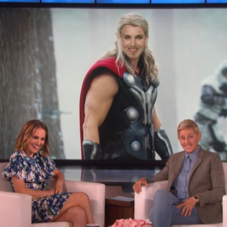 Natalie Portman's hilarious FIRST LOOK as the Lady Thor will give Chris Hemsworth a run for his money