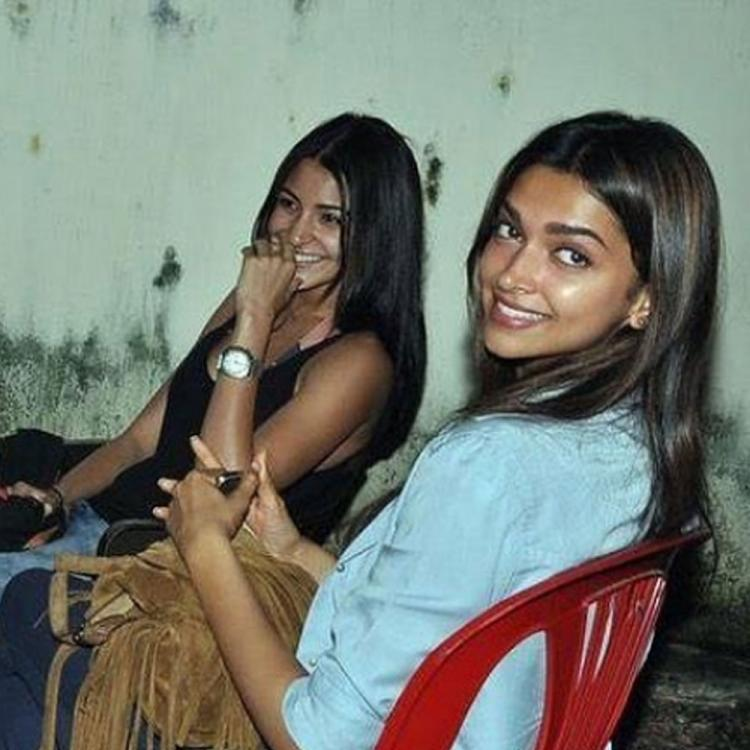 Throwback: Deepika Padukone & Anushka Sharma chilling together makes us want to see them share screen space