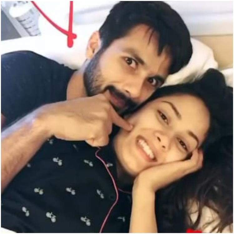 Throwback: Shahid Kapoor's mornings with wife Mira Rajput have romance written all over it and we are in awe