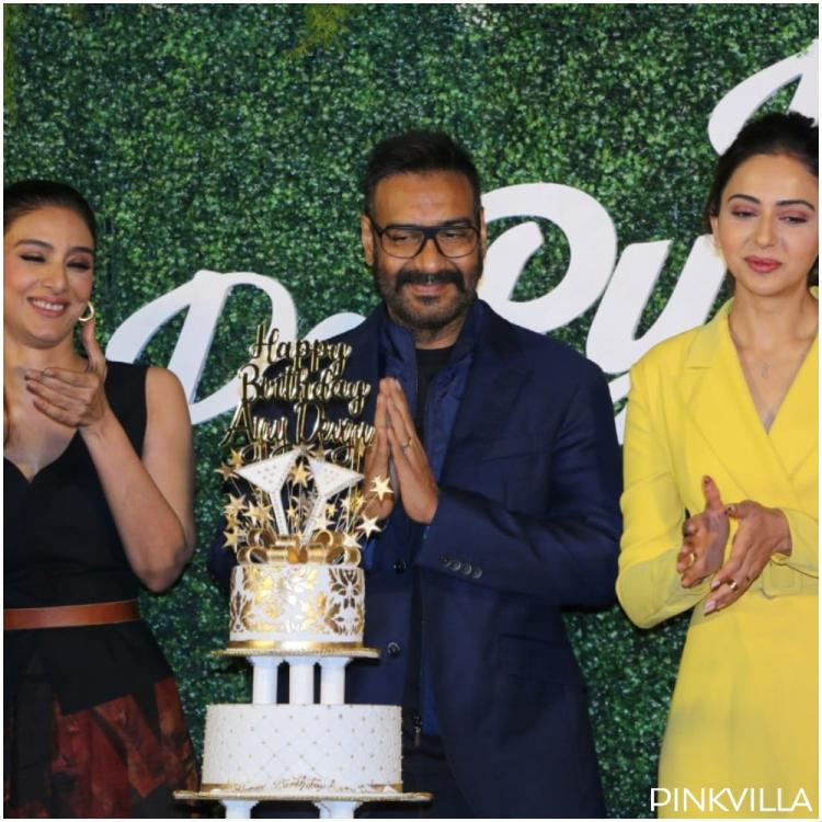 Throwback Thursday: Here's how Ajay Devgn celebrated his birthday last year with Rakul Preet Singh and Tabu