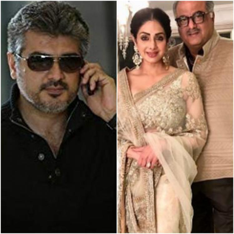 Throwback Thursday: When Sridevi expressed her wish to Boney Kapoor to produce a film starring Ajith Kumar