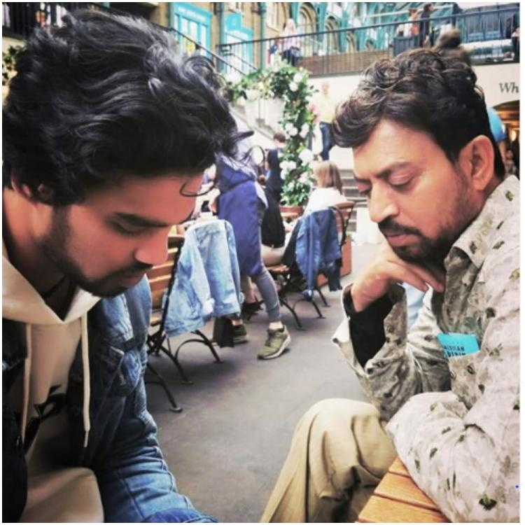 Throwback Tuesday: When Irrfan Khan saw a love bite on Babil Khan's neck and congratulated him for it