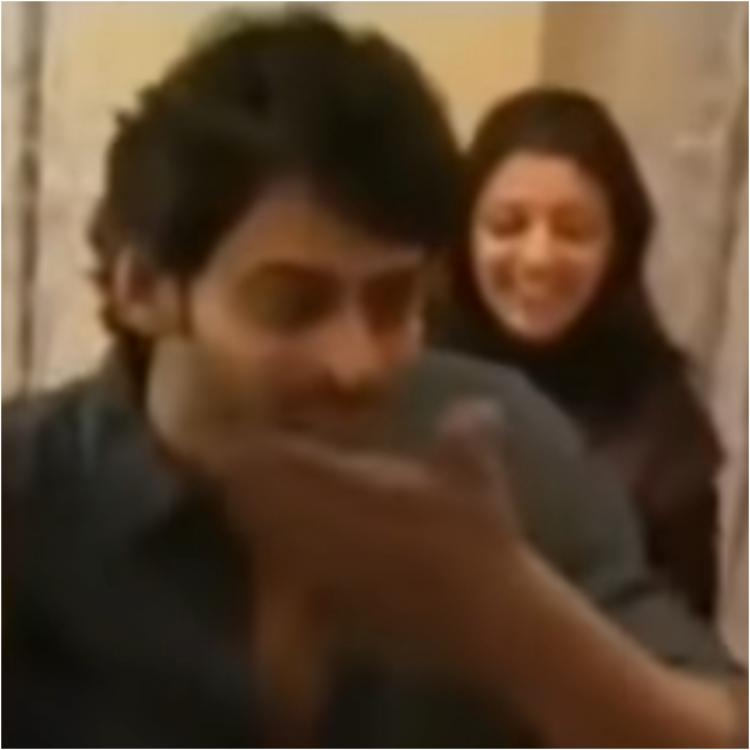 THROWBACK VIDEO: When Prabhas popped champagne and Kajal Aggarwal smashed cake all over his face at a party