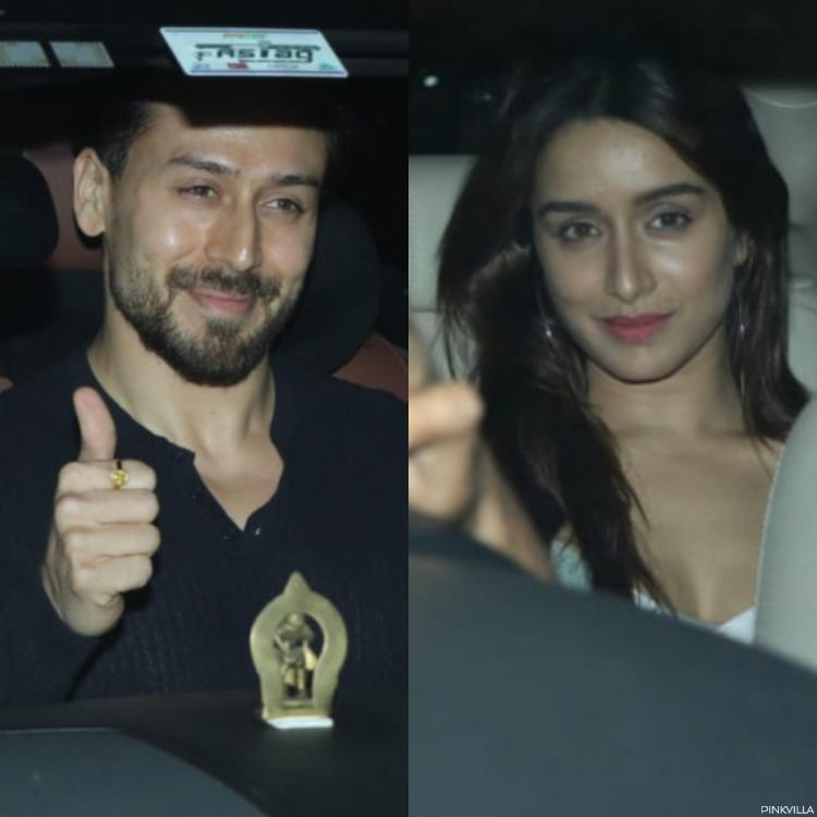 PHOTOS: Tiger Shroff & Shraddha Kapoor make for a powerful duo as they arrive for Baaghi 3 screening